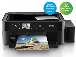 Drukarka EPSON L850 ITS A4 + Subskrypcja OFFICE 365 Personal