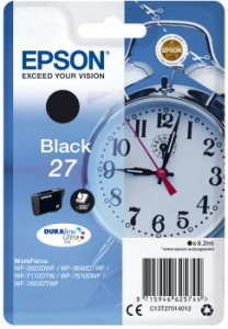 EPSON T2701 Black 6,2 ml 350 str. (C13T27014012)