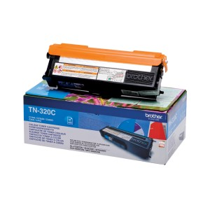Toner BROTHER TN320C Błękitny 1500 str