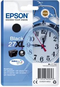EPSON T2711 Black 17,7 ml 1100 str. (C13T27114012)