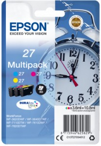 EPSON T2705 C/M/Y 3-colour 10,8 ml (C13T27054012)