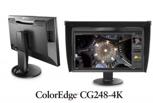 "Monitor EIZO 23.8"" CG248-4K ColorEdge Czarny"