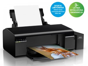 Drukarka EPSON L805 ITS Photo (atramentowa) + Subskrypcja Office365