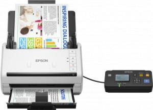 Skaner EPSON DS-530N WorkForce A4 LAN #B365