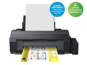 Drukarka EPSON L1300 ITS A3+ + Subskrypcja OFFICE 365 Personal