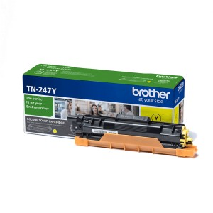 Toner BROTHER TN-247Y Żółty
