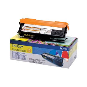 Toner BROTHER TN320Y Żółty 1500 str