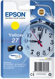 EPSON T2704 Yellow 3,6 ml 300 str. (C13T27044012)